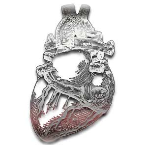 Betrothal Pewter Ring from Alchemy Gothic