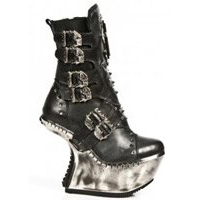 new rock extreme collection heel less platform boots and shoes