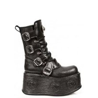 new rock space platform boots