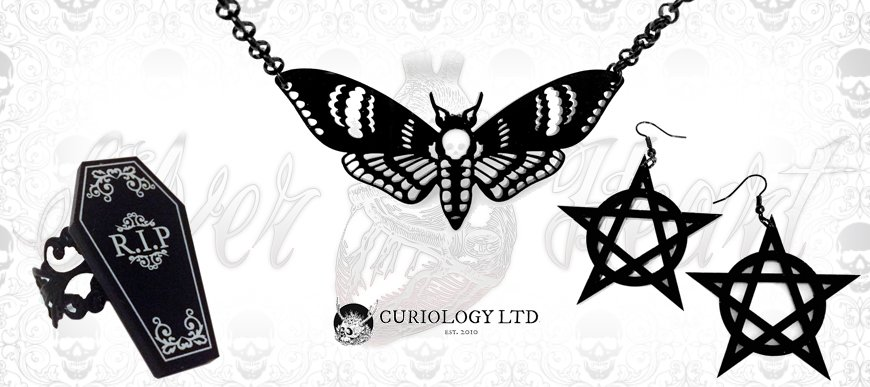 Curiology Jewellery Now In Stock