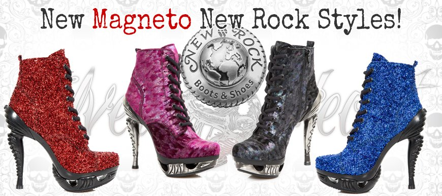 New Magneto Collection Styles from New Rock