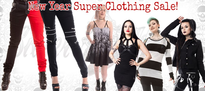 New Year Clothing Sale